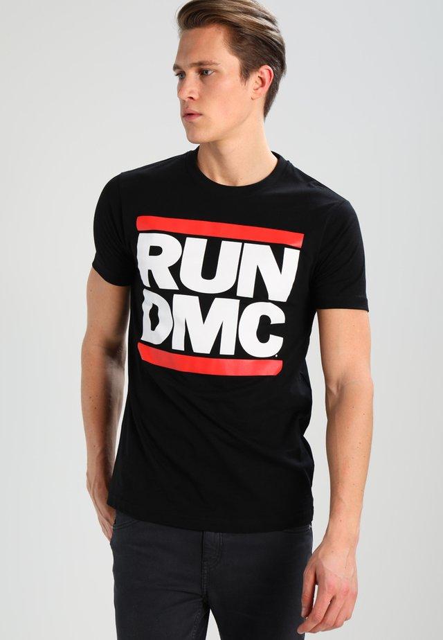 RUN DMC - T-shirt print - black