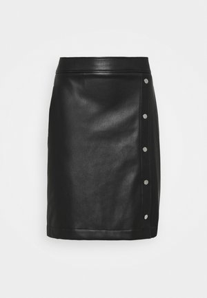 RULENA - Pencil skirt - black