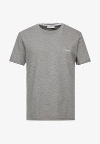 CHEST LOGO - Basic T-shirt - mid grey heather