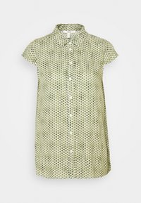 Esprit - BLOUSE - Button-down blouse - off white - 0