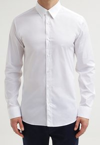 HUGO - ELISHA EXTRA SLIM FIT - Formal shirt - open white - 4