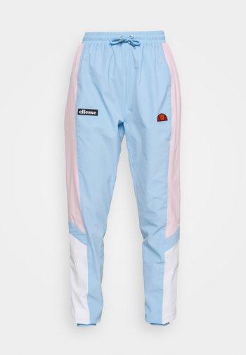 EULALIA TRACK PANT - Pantalones deportivos - light blue
