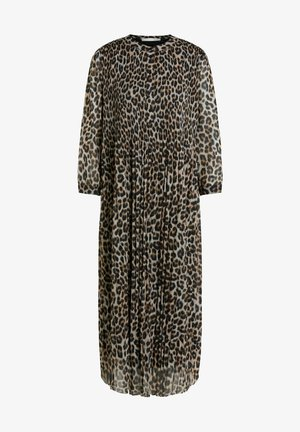 Day dress - dark camel grey