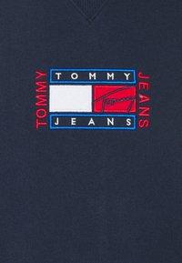 Tommy Jeans - TIMELESS CREW  UNISEX - Mikina - twilight navy - 6