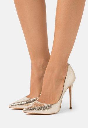 AELIA - Zapatos altos - platine