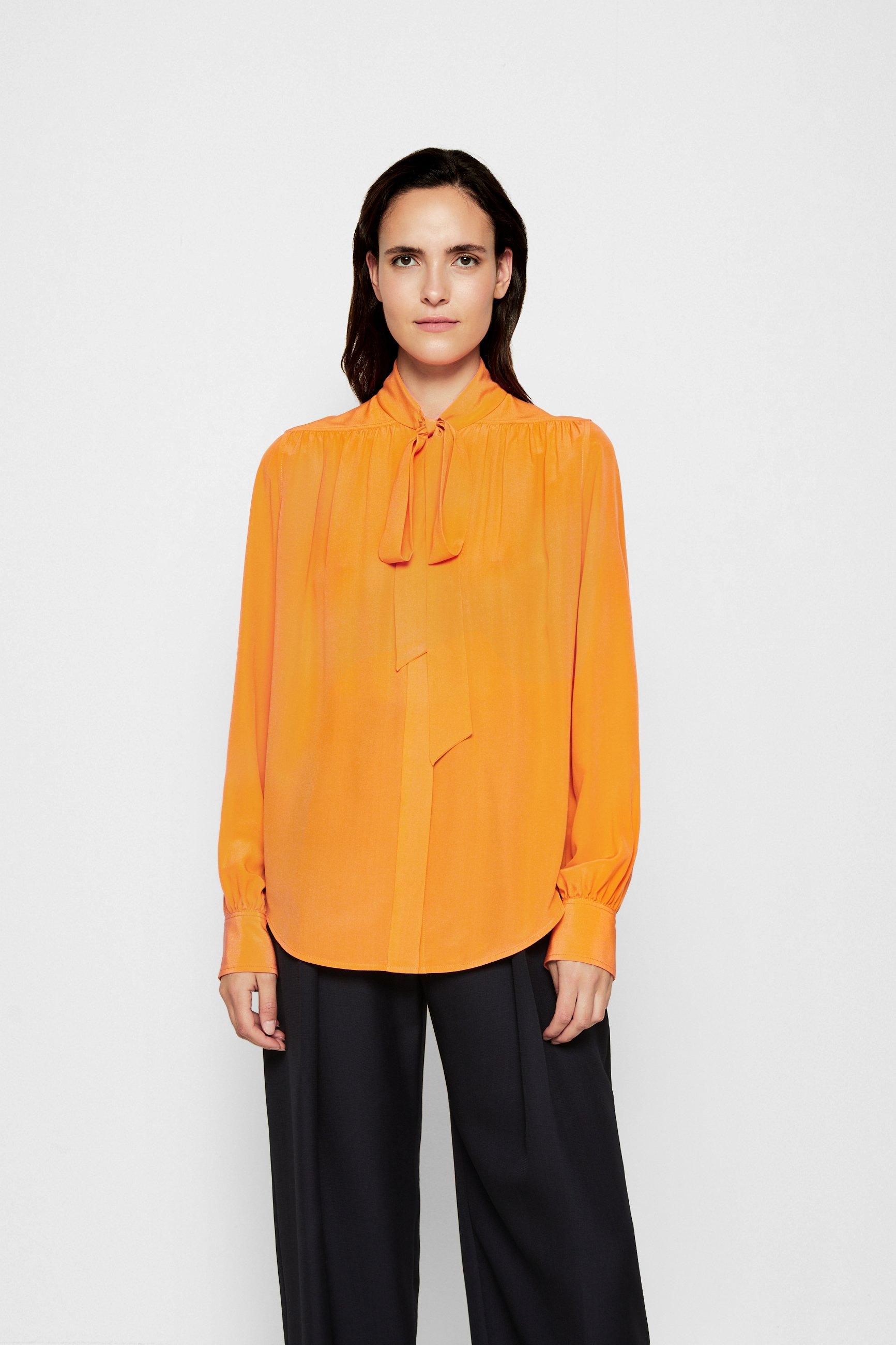 Women TIE DETAIL BLOUSE - Button-down blouse