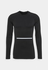 NU-IN - COMPRESSION LONG SLEEVE - Long sleeved top - black - 3