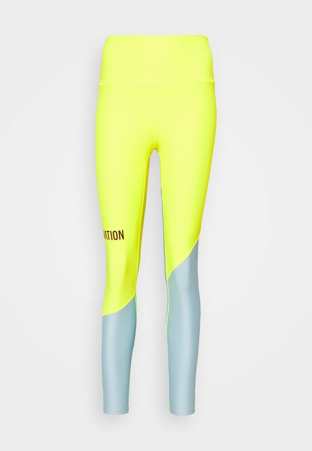 Leggings - safety yellow