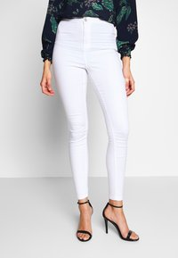 Missguided Tall - VICE HIGHWAISTED - Jeans Skinny Fit - white - 0