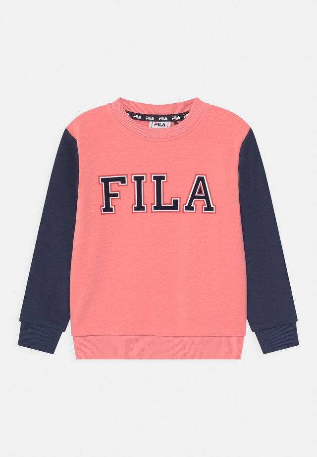 THEA CREW NECK - Mikina - conch shell/black iris