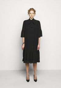 Bruuns Bazaar - AVIOR ROBIN DRESS - Day dress - black - 1