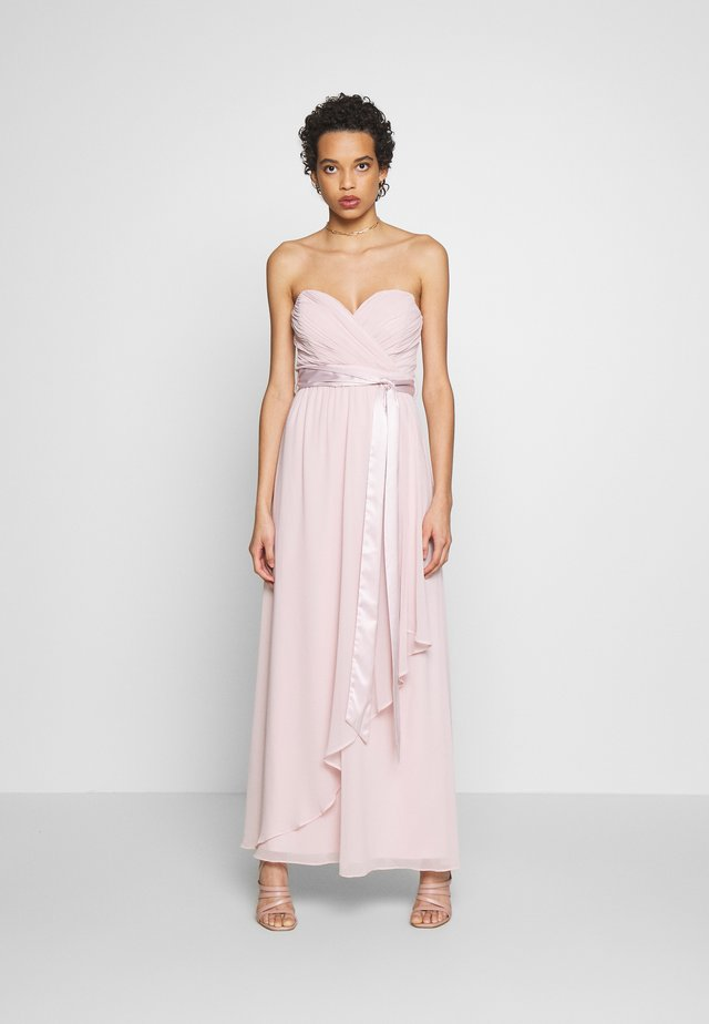 BENNI BANDEAU MAXI DRESS - Occasion wear - blush