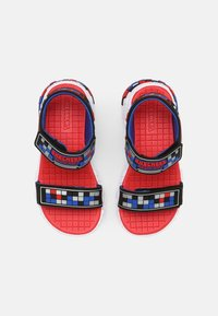 Skechers - MEGA-CRAFT - Sandals - black/silver/blue/red - 3