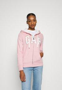 GAP - Zip-up hoodie - pink standard - 4