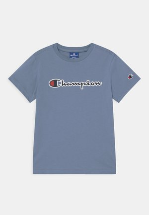 LOGO CREWNECK UNISEX - Camiseta estampada - blue-grey