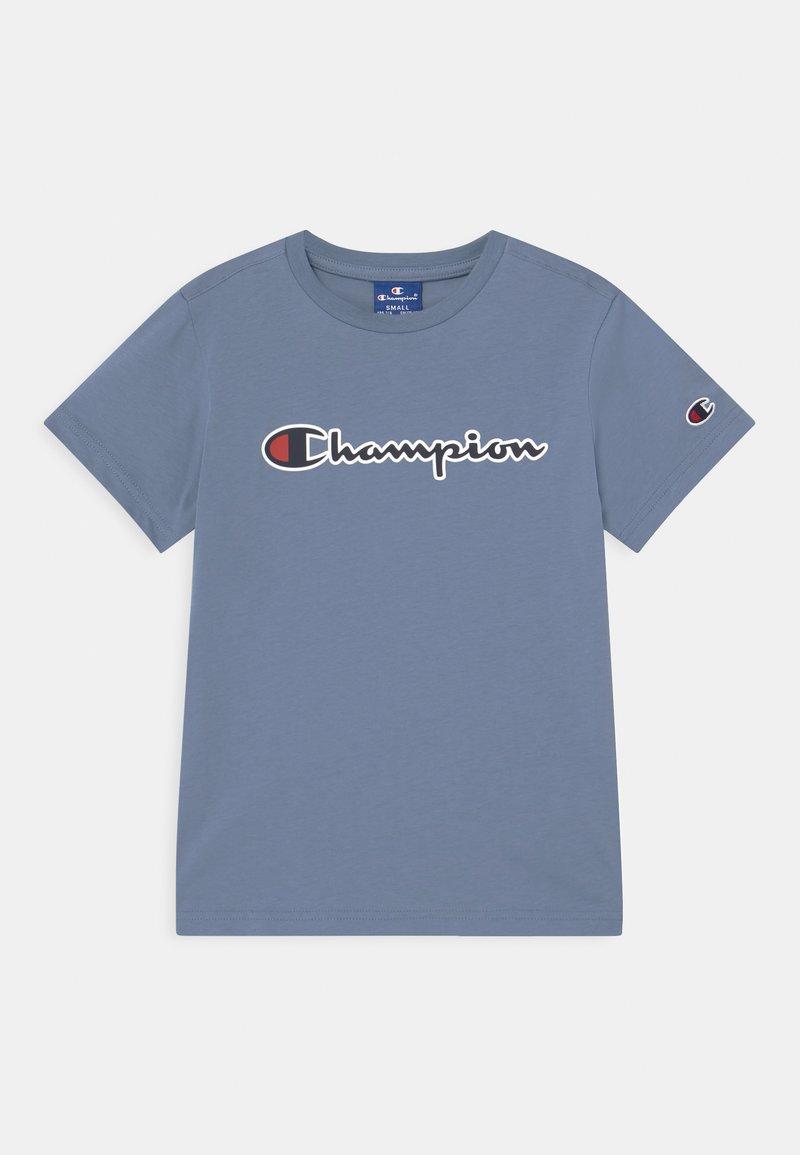 Champion Rochester - LOGO CREWNECK UNISEX - T-shirt imprimé - blue-grey