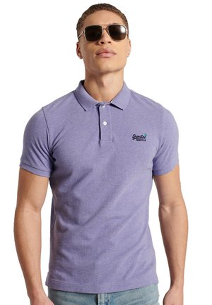 CLASSIC PIQUE - Polo shirt - notch lavender marl