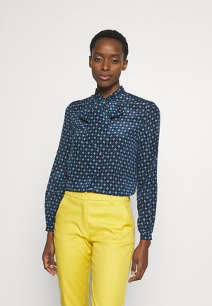 SPAGNA - Button-down blouse - ultramarine