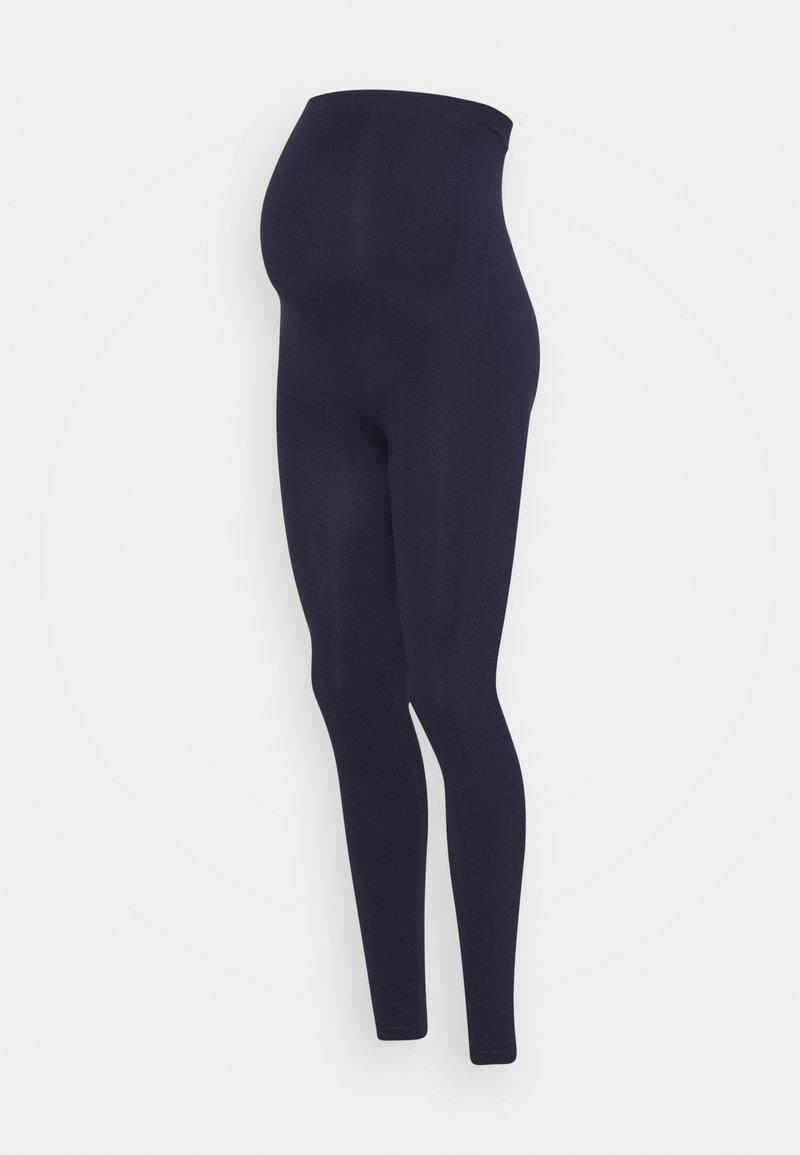 MAMALICIOUS - MLTIA JEANNE - Leggings - navy blazer