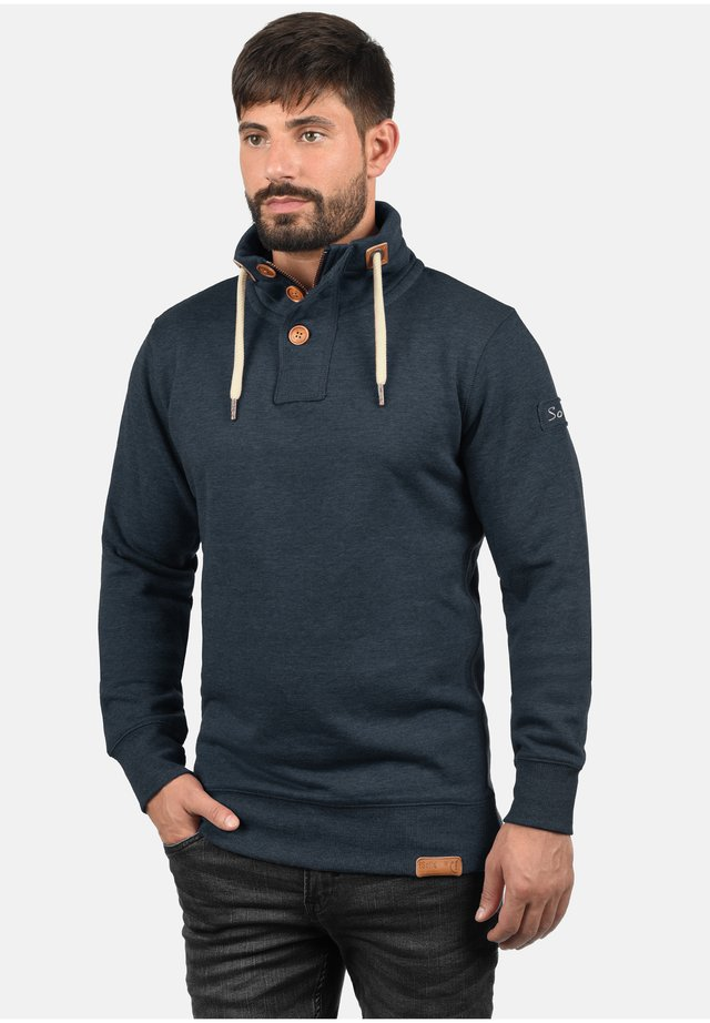 TRIPTROYER - Sweatshirt - insignia blue melange