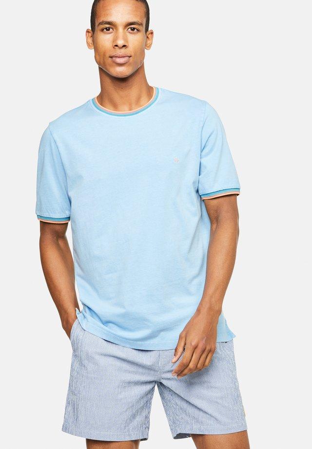 KARL - T-shirt con stampa - blau