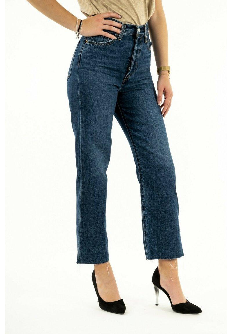 Levi's® - Straight leg jeans - bleu