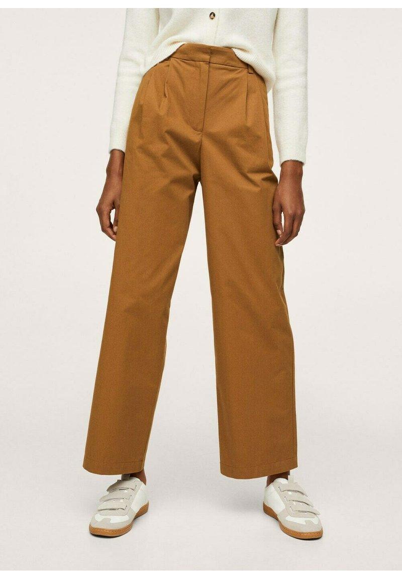 Mango - Trousers - medium brown