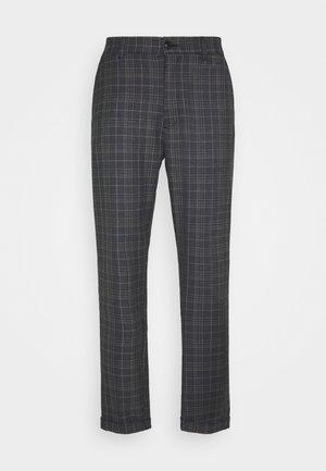 ROME PORTO CHECK - Trousers - brown check