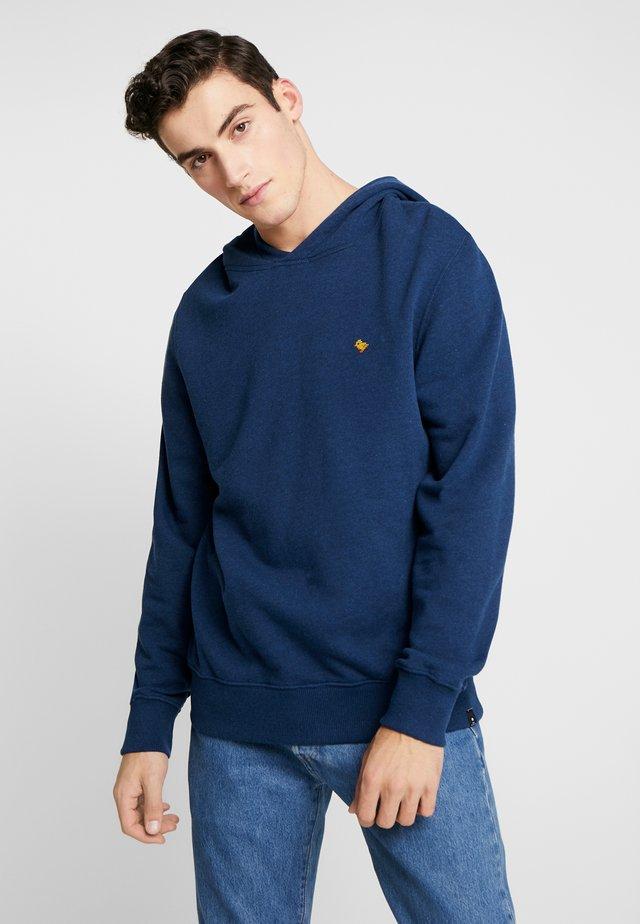 Bluza z kapturem - navy-mel