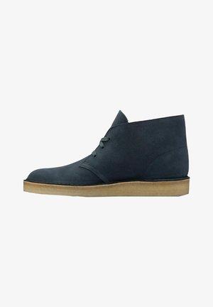 Veterboots - blue suede