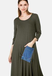 HELMIDGE - Maxi dress - khaki - 2