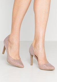 Marco Tozzi - High heels - rose metallic - 0