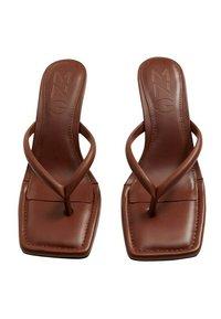 Mango - LULU - Sandály na vysokém podpatku - orange brûlé - 2