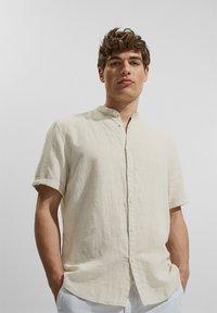 Esprit - MELANGE - Shirt - light beige - 4
