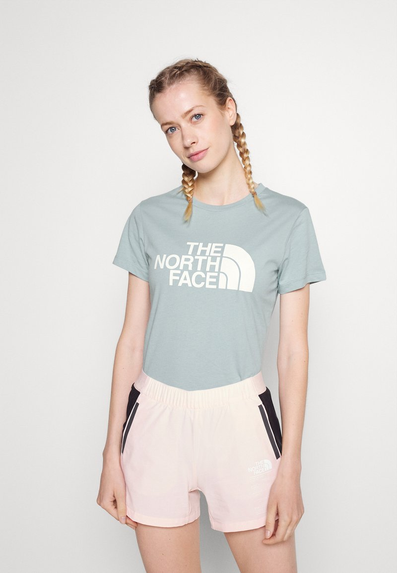 The North Face - EASY TEE - Print T-shirt - tourmaline blue