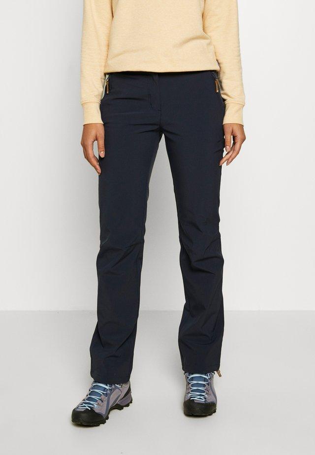 TAVITA - Długie spodnie trekkingowe - dark blue