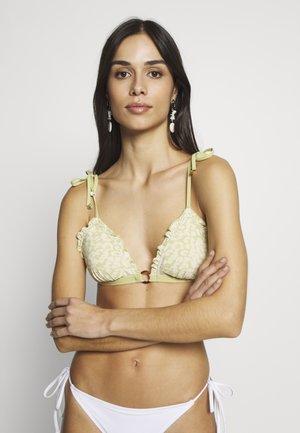 REGGIPETTO - Bikini top - green