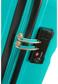 American Tourister - BON AIR - Wheeled suitcase - deep turquoise - 4