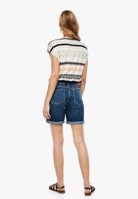 s.Oliver - Denim shorts - blue denim stretch - 2
