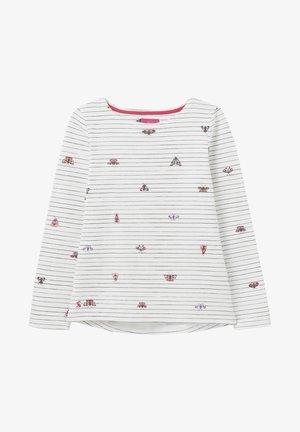 HARBOUR - Langærmede T-shirts - cremefarben schmetterling streifen