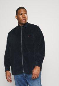 Polo Ralph Lauren Big & Tall - ZIP LONG SLEEVE - Shirt - navy/black - 0