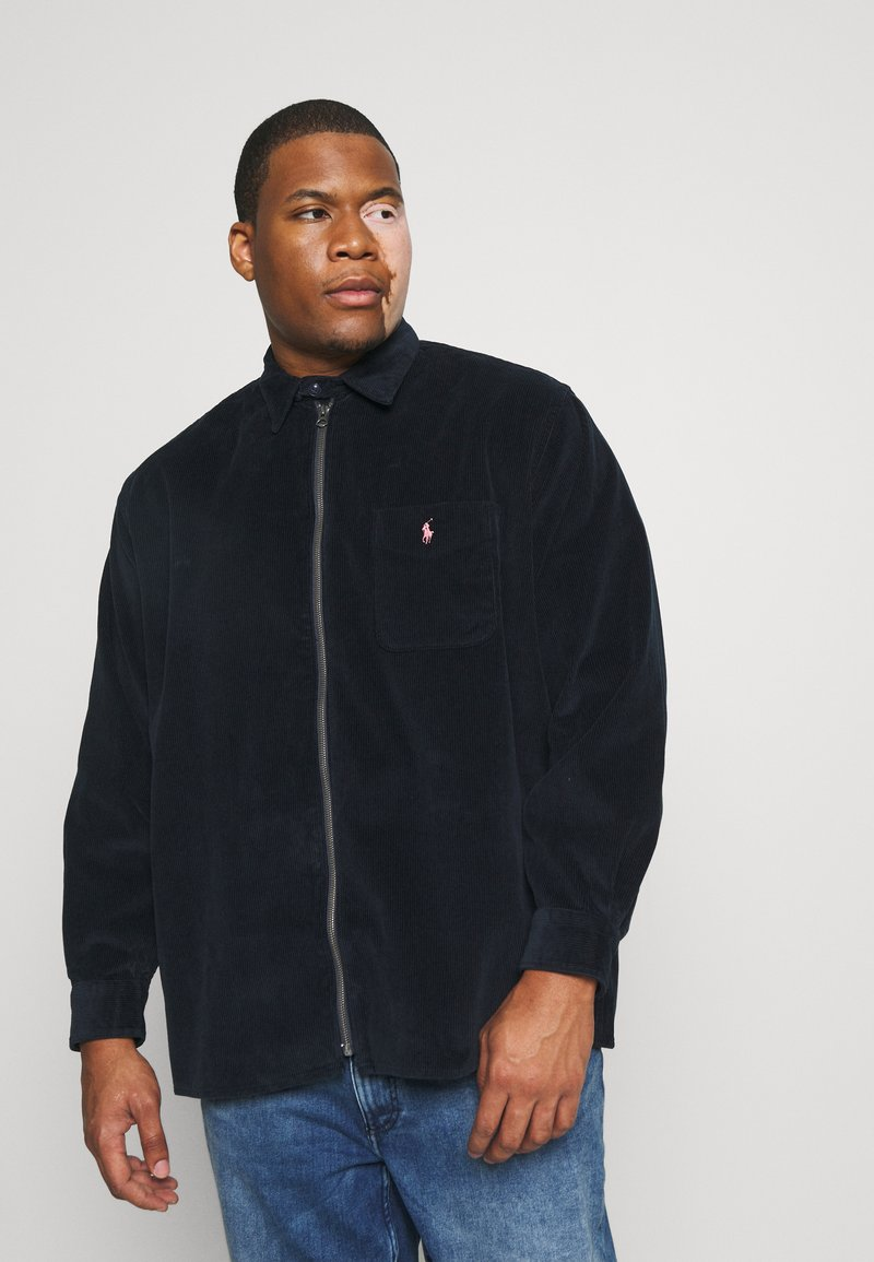 Polo Ralph Lauren Big & Tall - ZIP LONG SLEEVE - Shirt - navy/black