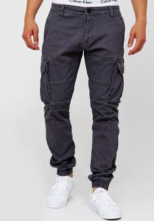 ALEX - Pantalones cargo - iron