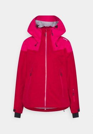 WOMAN JACKET HOOD - Ski jacket - magenta