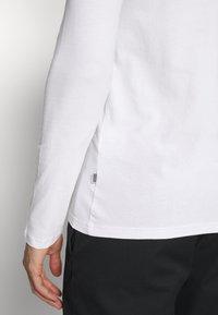 Pier One - 2 PACK - Langarmshirt - white/black - 6