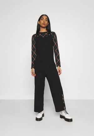 DUNGAREE - Jumpsuit - black
