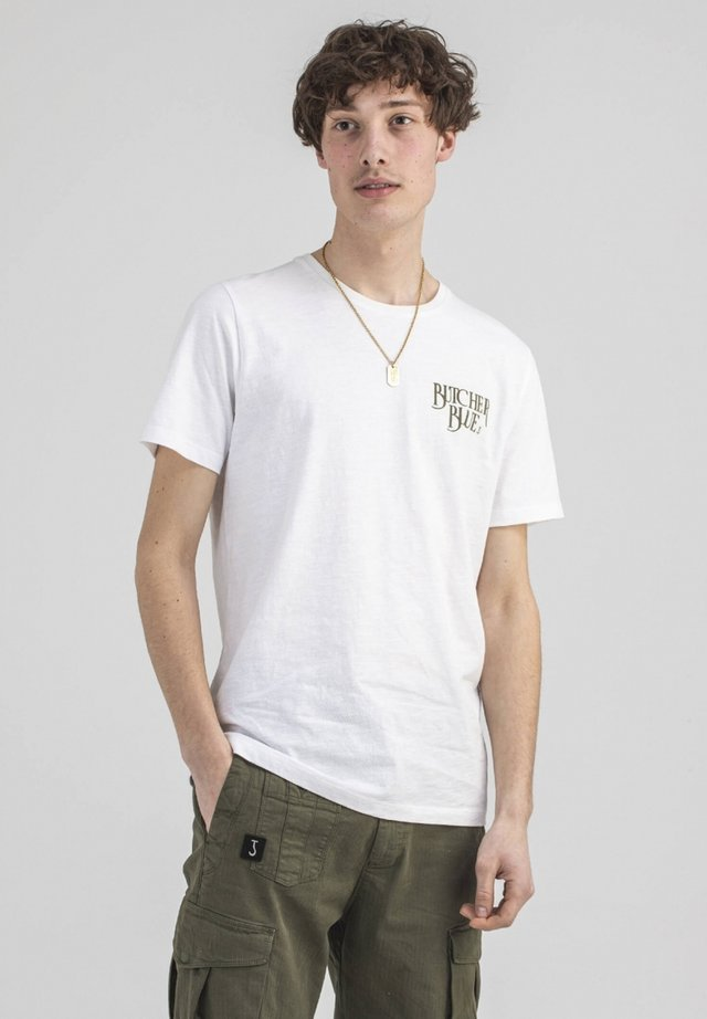 T-shirt print - off white