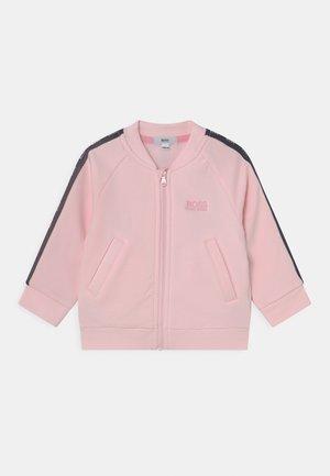 Zip-up sweatshirt - pink pale