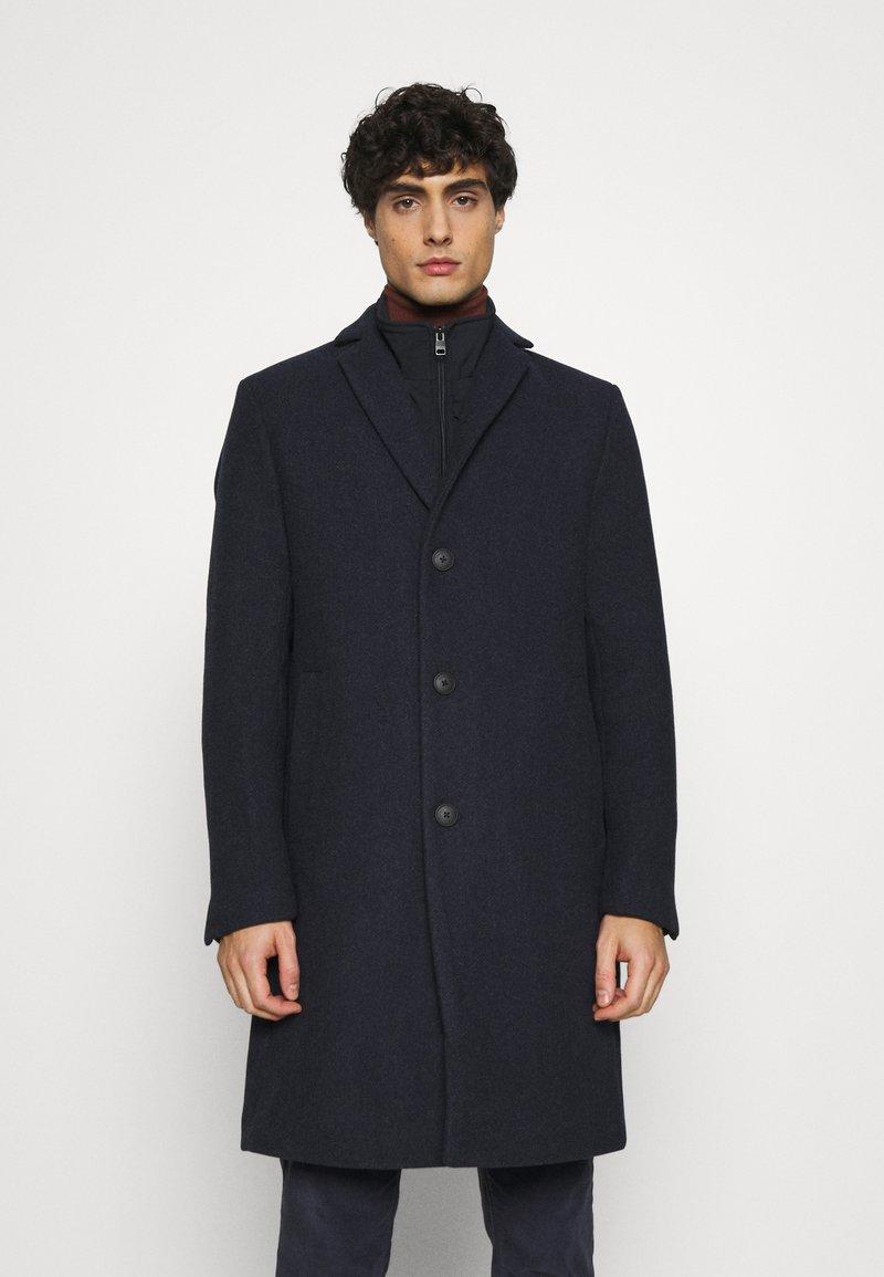Esprit Collection - COAT - Classic coat - dark blue