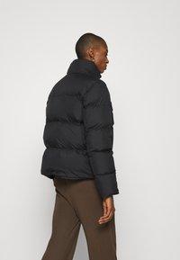 Marc O'Polo - PUFFER JACKET SHORT STAND UP COLLAR ZIPP - Down jacket - black - 2